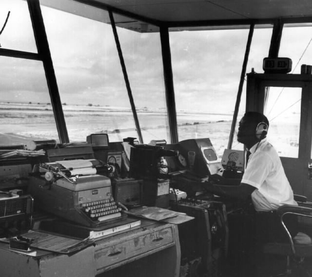 Inside the Flight Control Tower